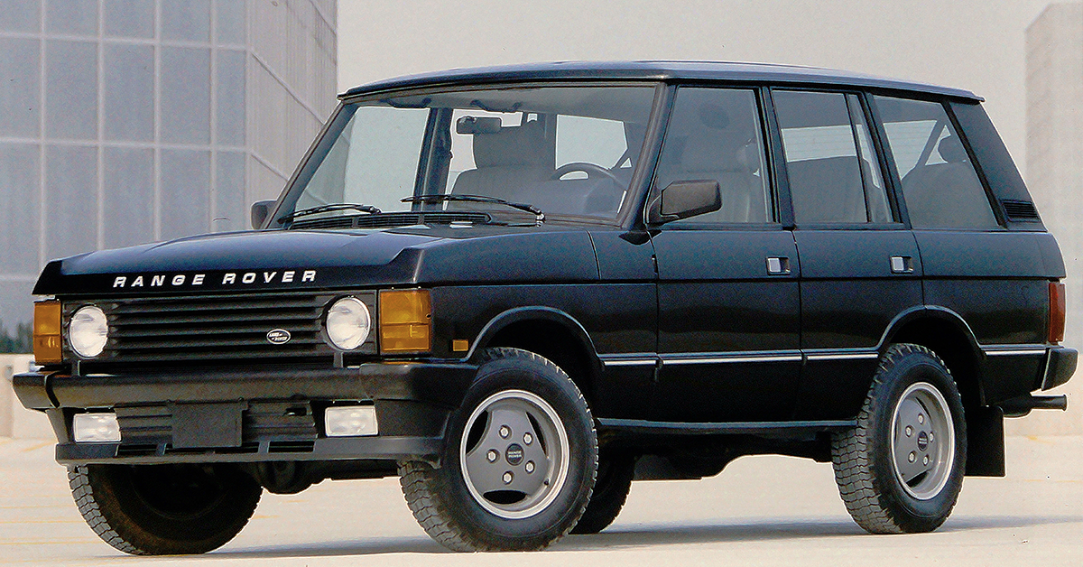 Range Rover History - 30th Anniversary | Land Rover USA