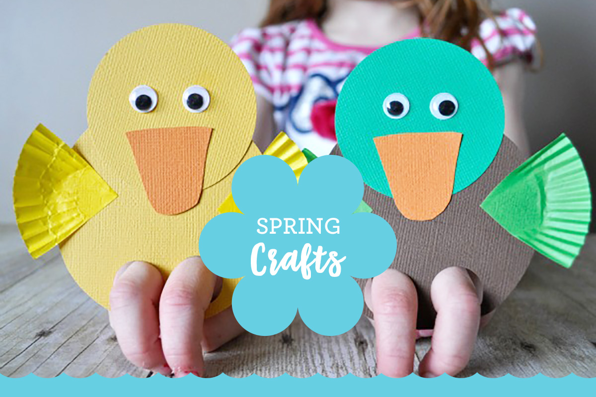 9 Super-Cute Spring Crafts for Kids