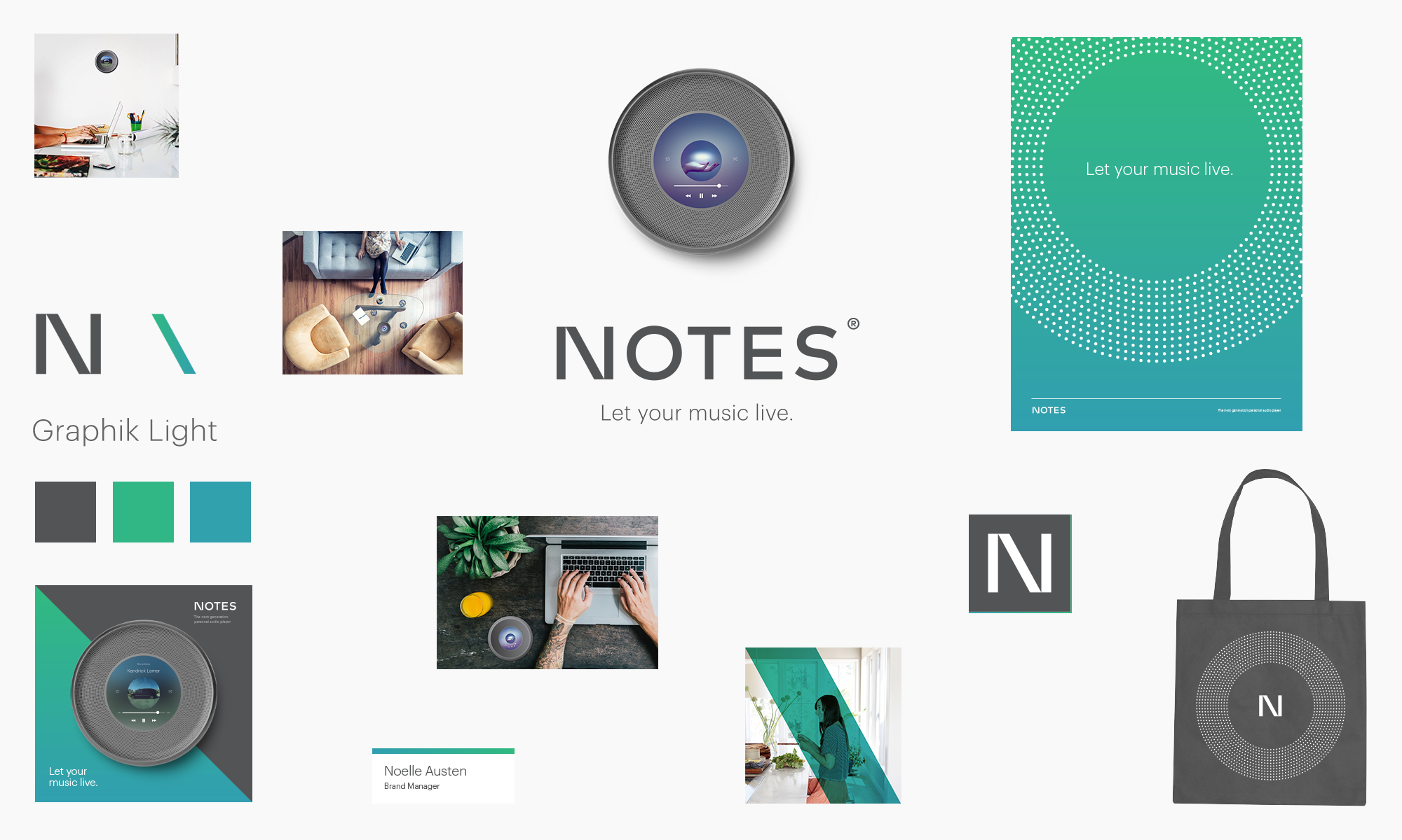 Notes — Let your music live.